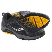 Saucony Grid Excursion TR9 Trail Running Shoes (For Men) in Black/Yellow - Closeouts