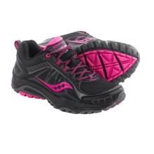 Saucony Grid Excursion TR9 Trail Running Shoes (For Women) in Black/Pink - Closeouts