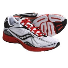 Saucony Grid Fastwitch 5 Running Shoes (For Men) in White/Black/Red - Closeouts
