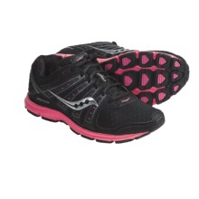 Saucony Grid Flex Running Shoes (For Women) in Black/Grey/Pink - Closeouts