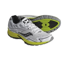 Saucony Grid Getgo Running Shoes (For Men) in White/Citron - Closeouts