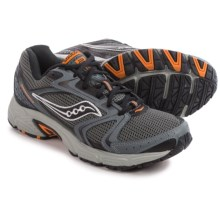 Saucony Grid Oasis TR2 Running Shoes (For Men) in Grey/Black/Orange - Closeouts
