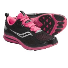 Saucony Grid Profile Running Shoes (For Women) in Black/Pink - Closeouts