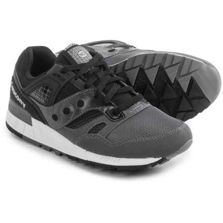 Saucony Grid SD Sneakers (For Men) in Black/Grey - Closeouts