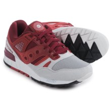 Saucony Grid SD Sneakers (For Men) in Red/Light Grey - Closeouts