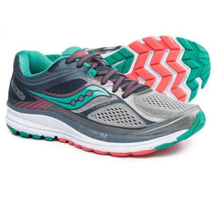Saucony Guide 10 Running Shoes (For Women) in Grey/Teal - Closeouts