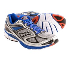 Saucony Guide 7 Running Shoes (For Men) in Silver/Blue/Black - Closeouts