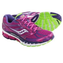 Saucony Guide 8 Running Shoes (For Women) in Berry/Purple/Slime - Closeouts