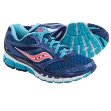 Saucony Guide 8 Running Shoes (For Women) in Blue/Navy/Coral - Closeouts