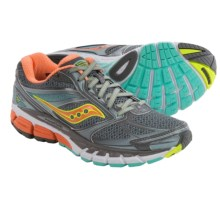Saucony Guide 8 Running Shoes (For Women) in Grey/Sunset/Citron - Closeouts