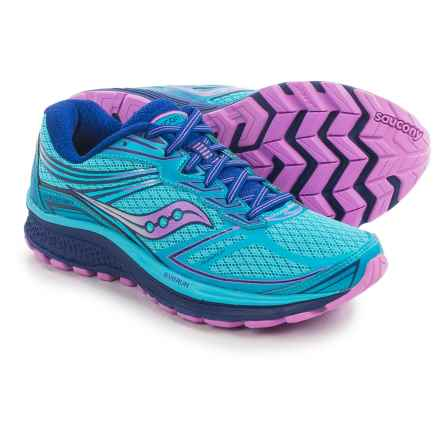Saucony Guide 9 Running Shoes (For Women) in Blue/Purple/Pink - Closeouts