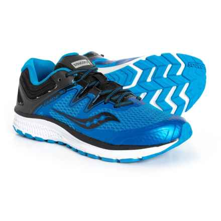 Saucony Guide ISO Running Shoes (For Little and Big Boys) in Blue/Black - Closeouts