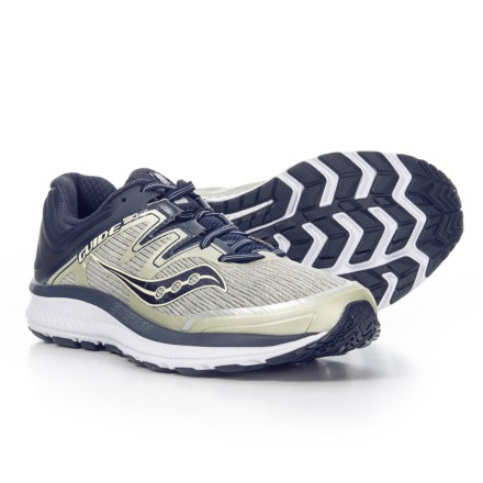 5ae7aa0ae36 Saucony Guide ISO Running Shoes (For Men) in Grey Navy - Closeouts