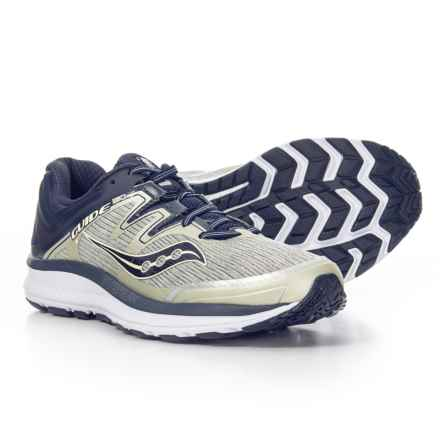 Saucony Guide ISO Running Shoes (For Men) in Grey/Navy - Closeouts