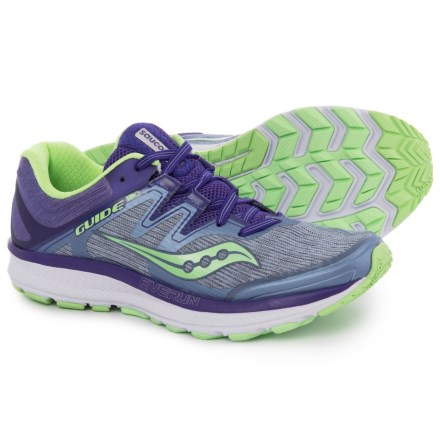 52f8d1431ecc Saucony Guide ISO Running Shoes (For Women) in Fog Purple Mint -