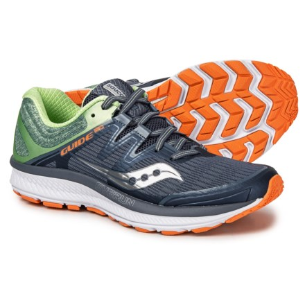 39c3d35e864 Saucony Guide ISO Running Shoes (For Women) in Grey Mint Orange
