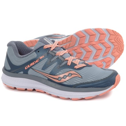 detailed look 2485c bf896 Saucony Guide ISO Running Shoes (For Women) in Slate/Peach - Closeouts