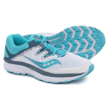 ed22aa7329754 Saucony Guide ISO Running Shoes (For Women) in White/Blue