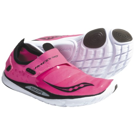 Saucony Hattori Minimalist Running Shoes (For Women) in Vizipro Pink/Black