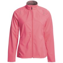 Saucony Heiress Jacket - Waterproof, Soft Shell (For Women) in Vizipro Pink - Closeouts