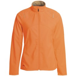 Saucony Heiress Soft Shell Jacket - Waterproof (For Women) in Vizipro Pink