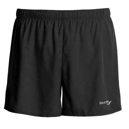 Saucony High-Performance Shorts - Inner Brief (For Men) in Black - Closeouts