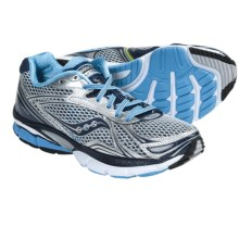 Saucony Hurricane 14 Running Shoes (For Women) in Silver/Navy/Blue - Closeouts