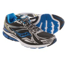 Saucony Hurricane 16 Running Shoes (For Men) in Black/Blue/Citron - Closeouts
