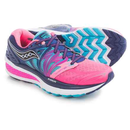 Saucony Hurricane ISO 2 Running Shoes (For Women) in Blue/Pink - Closeouts
