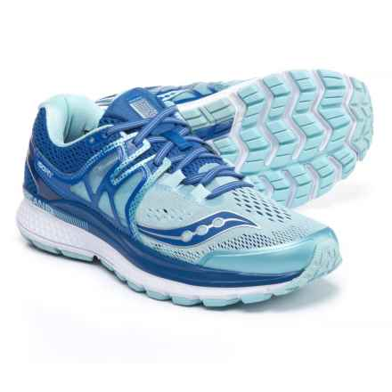 Saucony Hurricane ISO 3 Running Shoes (For Women) in Blue/Light Blue - Closeouts