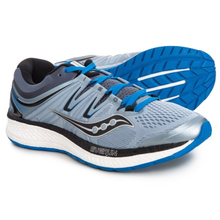 huge discount ca7b8 2f49a Saucony Hurricane ISO 4 Running Shoes (For Men) in Grey Blue Black