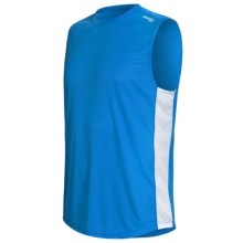 Saucony Hydralite Recycled Materials Shirt - Sleeveless (For Men) in Astro Blue - Closeouts