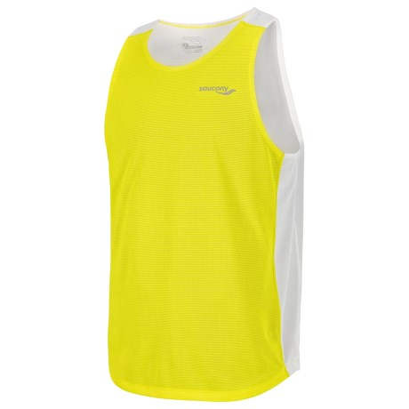 Saucony Hydralite Singlet Top (For Men) in Sipher
