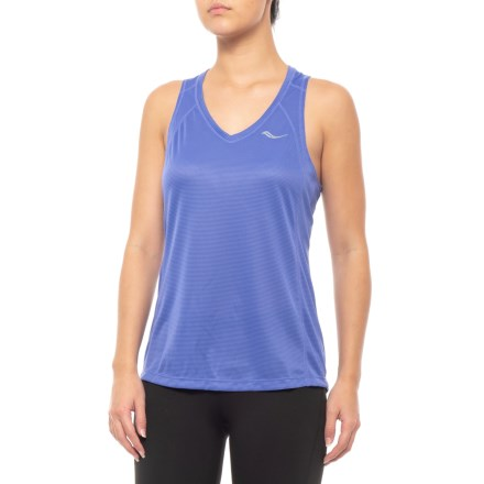 7eff0e5fdfb1b Saucony Hydralite Tank Top (For Women) in Violet Storm - Closeouts