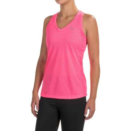 Saucony Hydralite Tank Top (For Women) in Vizipro Pink - Closeouts