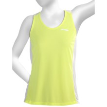 Saucony Hydralite Tank Top - Recycled Materials (For Women) in Ion/White - Closeouts