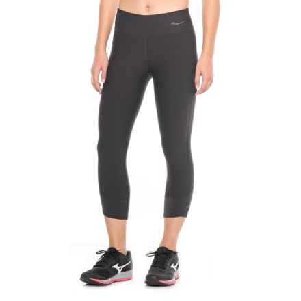 Saucony Ignite Capris (For Women) in Black - Closeouts
