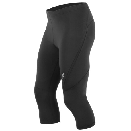 Saucony Inferno 3/4 Fitted Tights - UPF 50+ (For Men) in Black