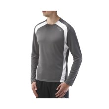 Saucony Inferno Shirt - UPF 40-50+, Recycled Materials, Long Sleeve (For Men) in Element/White - Closeouts