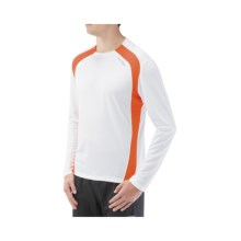 Saucony Inferno Shirt - UPF 40-50+, Recycled Materials, Long Sleeve (For Men) in White/Dash - Closeouts