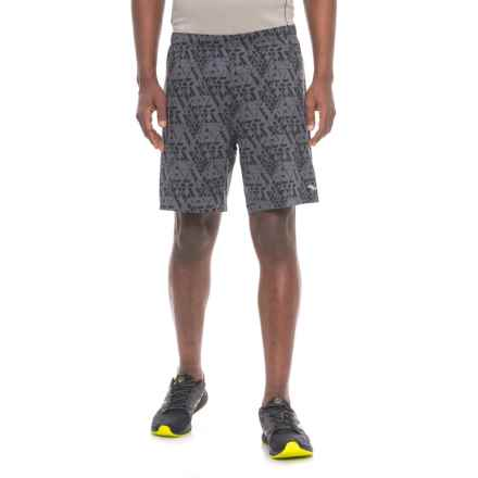 Saucony Interval 2-1 Shorts - Built-in Liner (For Men) in Carbon - Closeouts