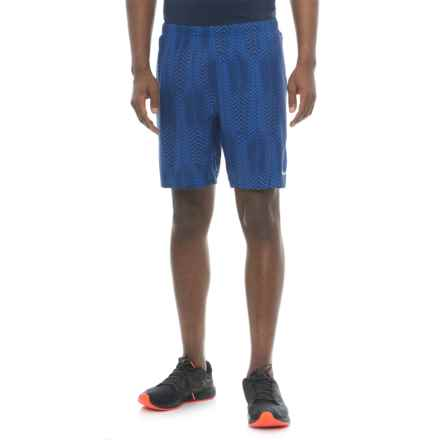 Saucony Interval 2-1 Shorts - Built-in Liner (For Men) in Lakeside - Closeouts