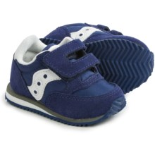 Saucony Jazz Crib Sneakers - Leather (For Infants) in Cobalt Blue - Closeouts