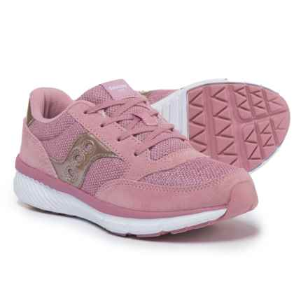 Saucony Jazz Lite Shoes (For Girls) in Blush Metallic - Closeouts