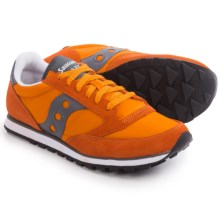 Saucony Jazz Low Pro Sneakers (For Men) in Orange/Grey - Closeouts