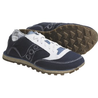 Saucony Jazz Low Pro Vegan Shoes (For Women) in Navy/White