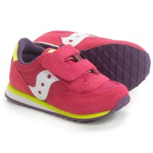 Saucony Jazz Sneakers (For Toddlers) in Pink/Purple/Citron - Closeouts