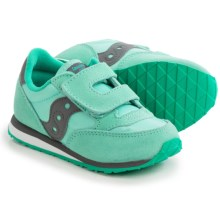 Saucony Jazz Sneakers (For Toddlers) in Turquoise/Grey - Closeouts