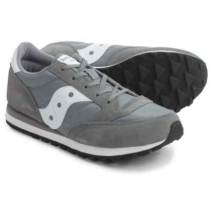 Saucony Jazz Sneakers (For Youth Boys) in Original/Grey - Closeouts