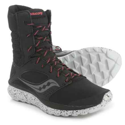 9ee051f90047c Saucony Kineta Relay Boots Running Shoes (For Women) in Black Coral -  Closeouts
